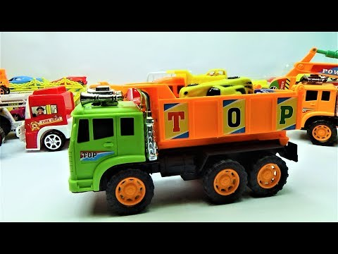 Car truck for kids - Giant super truck transport small truck, truck toys | video for kids