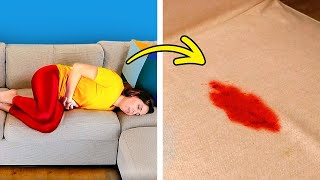 MOST ANNOYING MOMENTS IN GIRLS LIFE  Life-Changing Hacks, Tricks and Tips