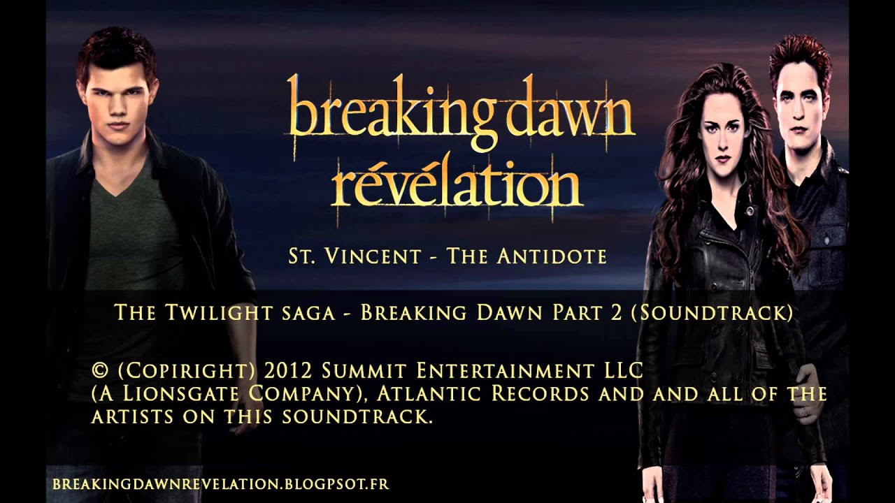 The Twilight Saga  Breaking Dawn Part 2 Soundtrack Preview  YouTube