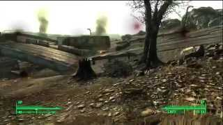 Fallout 3 - Post Apocalyptic Combat HD Gameplay Xbox 360