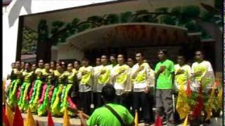 St. Cecilia Choir During Sinulog 2012...Our Father and Philippine National Anthem...