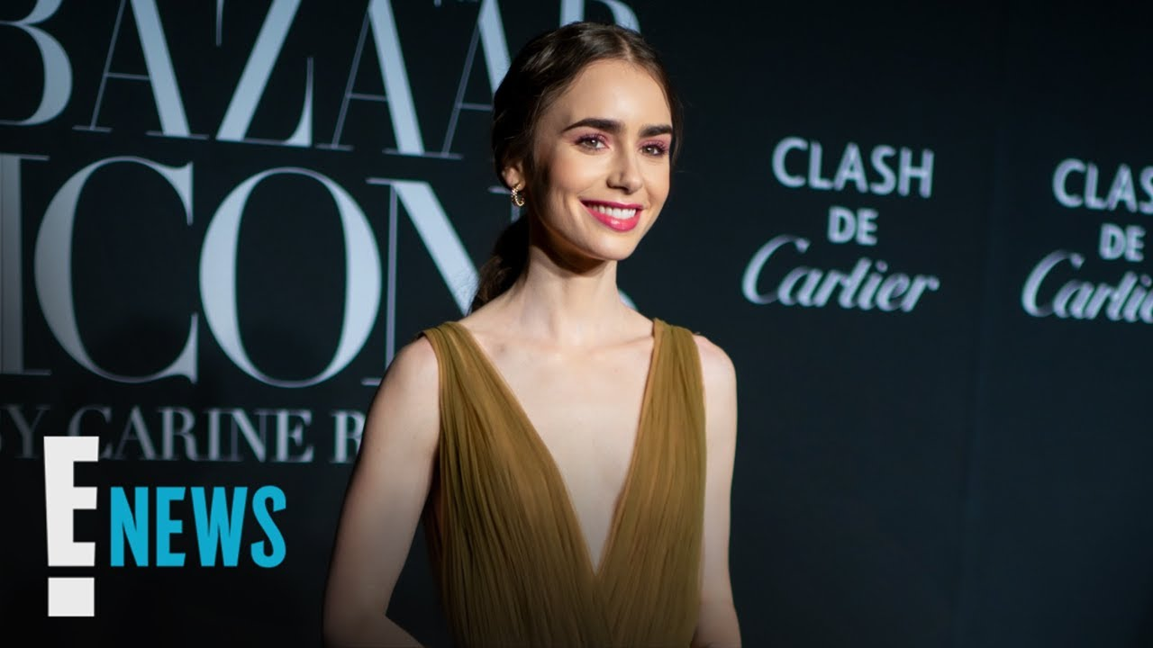 Lily Collins Is Engaged! See Her Unique Diamond Ring News