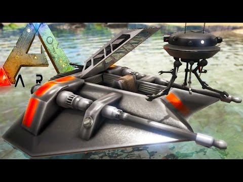 Ark Survival Evolved - EVERY STAR WARS SPEEDER, BB-8, WEAPONS - Ark Modded