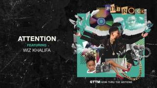 PnB Rock - Attention feat  Wiz Khalifa [Official Audio]
