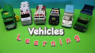 Best small size vehicles Learning with toys vehicles.best way to learn words.