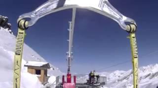 La plus haute tyrolienne d'Europe à Val Thorens Thumbnail