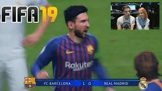 Real Madrid vs Barcelona | FIFA 19 - UEFA Champions League FINAL