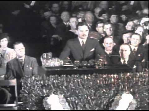 1944 Republican Presidential Candidate Thomas Dewey