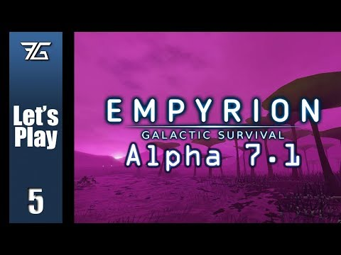 Empyrion : Galactic Survival Alpha 7 - Ep 5 Mining The Moon