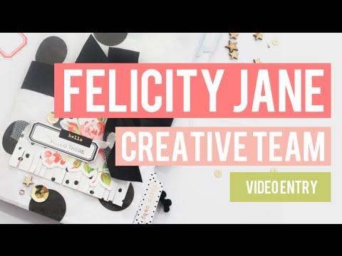 FELICITY JANE - CREATIVE TEAM - APPLICATION VIDEO