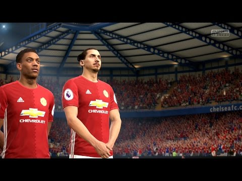 FIFA 17   Manchester United vs Real Madrid - Full Gameplay (PS4/Xbox One)