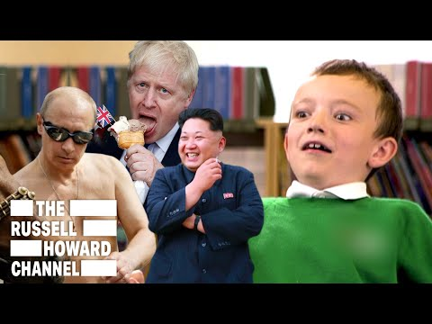 What Kids Make of Our World Leaders | Playground Politics | The Russell Howard Channel