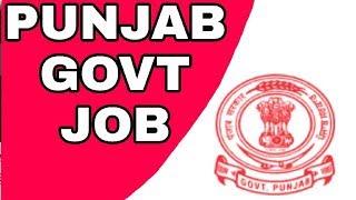 PUNJAB Govt job (volunteer) | 400/- per day | no written exam just interview