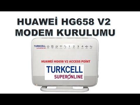 Huawei HG 658 V2 Modem Port Açma 100%100 Çözüm