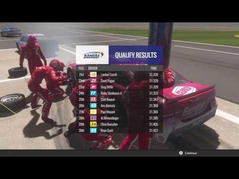 NASCAR Heat Evolution - Race #2: Kansas Speedway