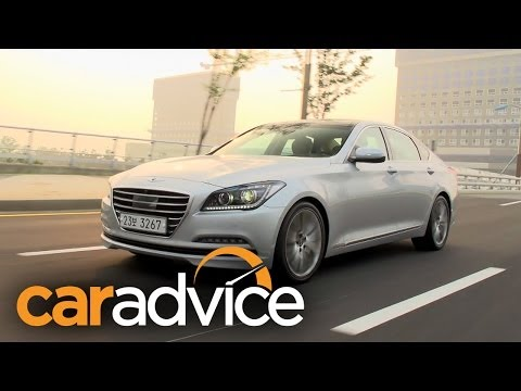 Hyundai Genesis Review First Drive in South Korea