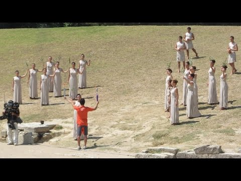 LIVE: Olympic flame handover ceremony takes place in Athens ahead of Rio 2016