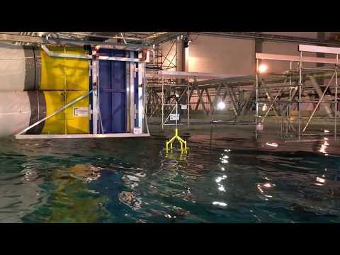 École centrale de Nantes (Floating wind turbine)