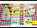 Around Town, Occupations & Transportation - Card Game | English Speaking Practice | ESL
