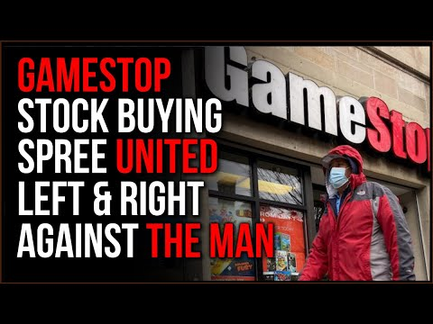 GameStop Stock Spree UNITED Left And Right In An Attempt To Stick It To 'The Man'