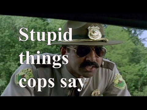 No State Project live ep 56 Stupid Things Cops Say