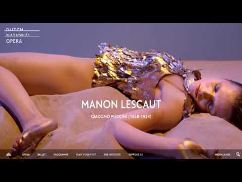"""Radio4 ntr operalive Uitzending Puccini """"Manon Lescaut"""""""