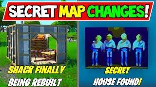 """FORTNITE SECRET MAP CHANGES v9.01 SEASON 9! """"SHACK LOST TO CUBE RETURNS"""" - Histoire de la saison 9"""