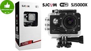 ✔ SJCAM SJ5000X Первая бюджетная камера с Gyro стабилизацией! Gearbest!