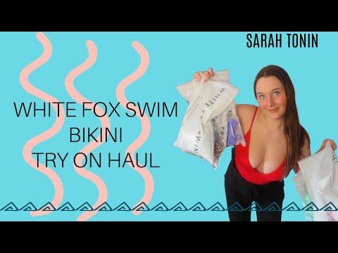 White Fox Swim Bikini Try On Haul
