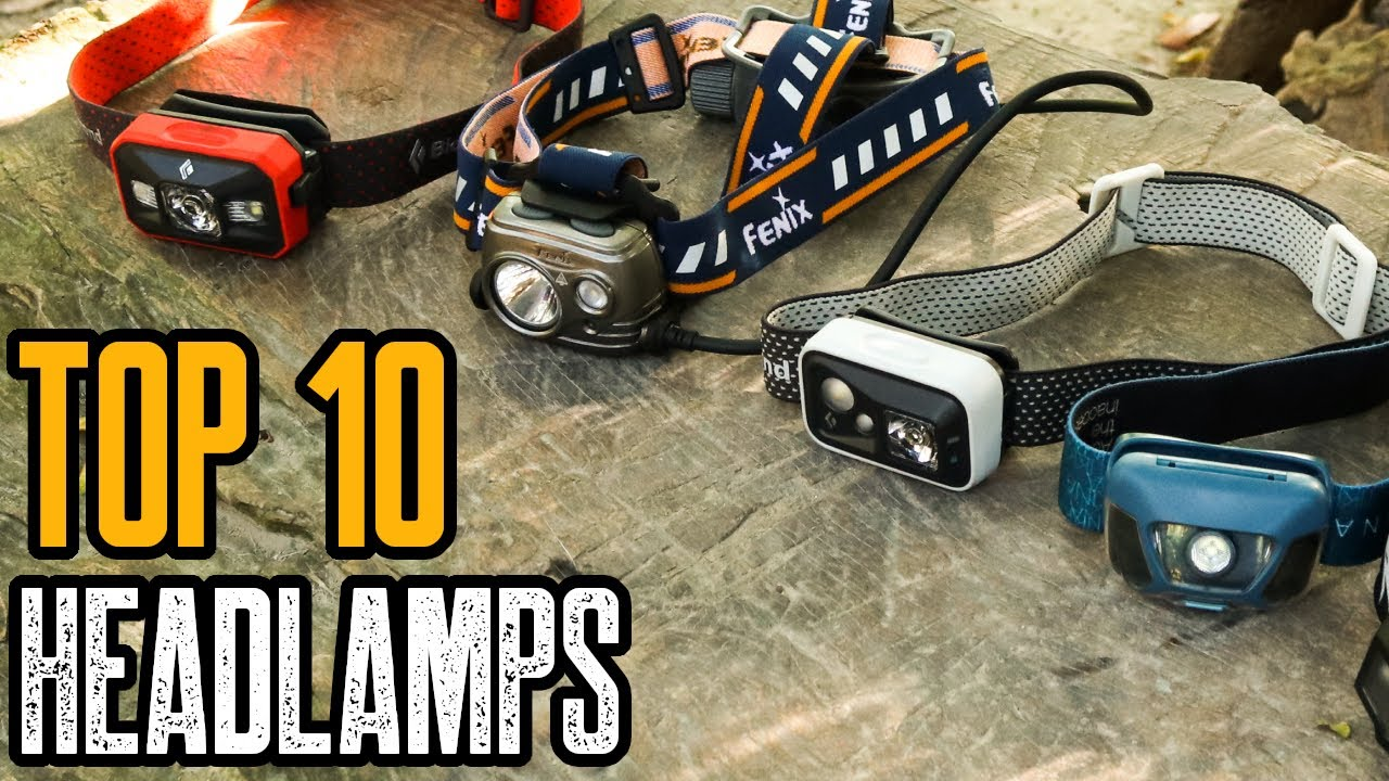 Top 10 Best Headlamps 2019 For Hiking Backpacking Running Youtube