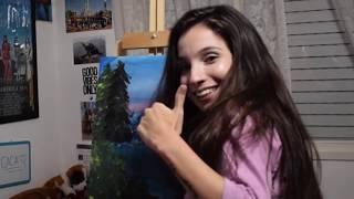 Siguiendo Una Pintura De BOB ROSS