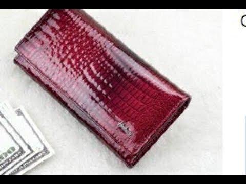 Женский кошелек с Aliexpress - YouTube