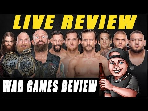 WWE NXT Takeover WAR GAMES Live Review 11/18/2017 #WARGAMES
