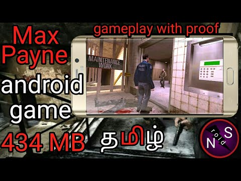 how to free download Max Payne high compress Android game Tamil