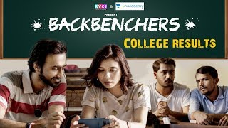 Backbenchers - College Results | Abhinav Anand (Bade) & Shreya Gupto | RVCJ
