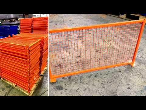 easyDIVIDER© UK Manufactured fixed Dividers for pallet racking and long span shelving