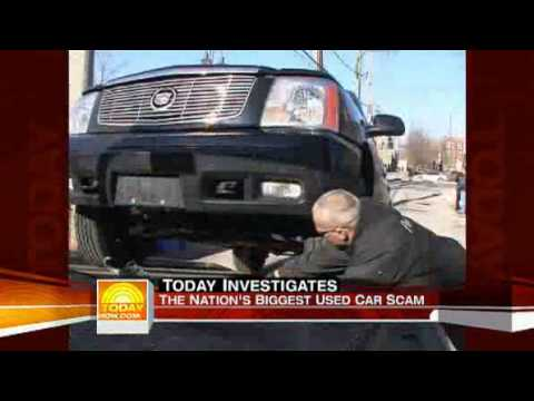 used car scam the today show youtube