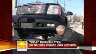 Used Car Scam (The Today Show)
