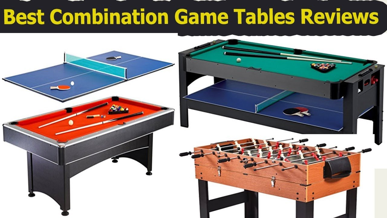 Best Combo Game Table Reviews In 2018 Best Combination Game Tables