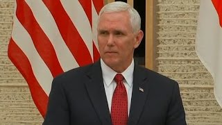 Pence  North Korea is most ominous threat