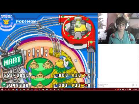 TheNekoMimiGamer Streams Pokemon Pinball