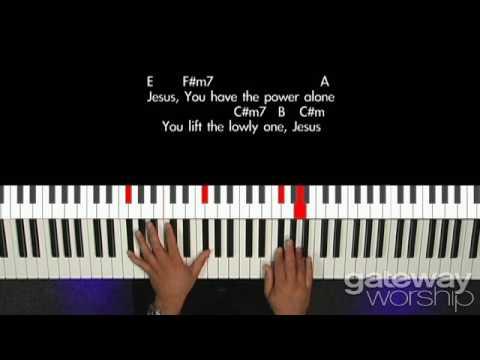 When I Speak Your Name Keyboard Chords By Kari Jobe Worship Chords