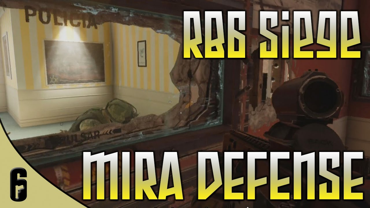 Mira OT Defense on House Rainbow Six Siege (Full Gameplay - Xbox)