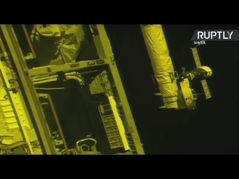 LIVE: Expedition 53/54 docks with Int'l Space Station
