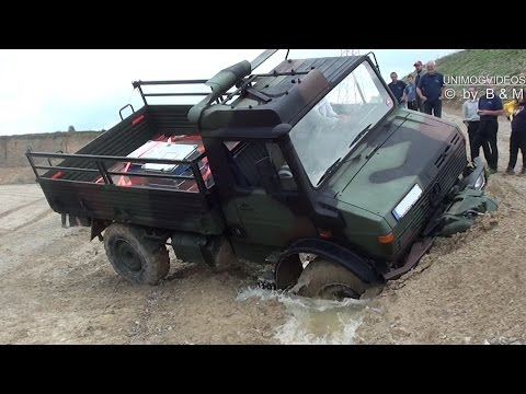 AMAZING Unimog Training Brigachtal - Offroad Trial 4WD 4x4 Off-Roading