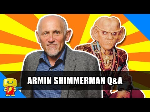 Armin Shimerman Q&A