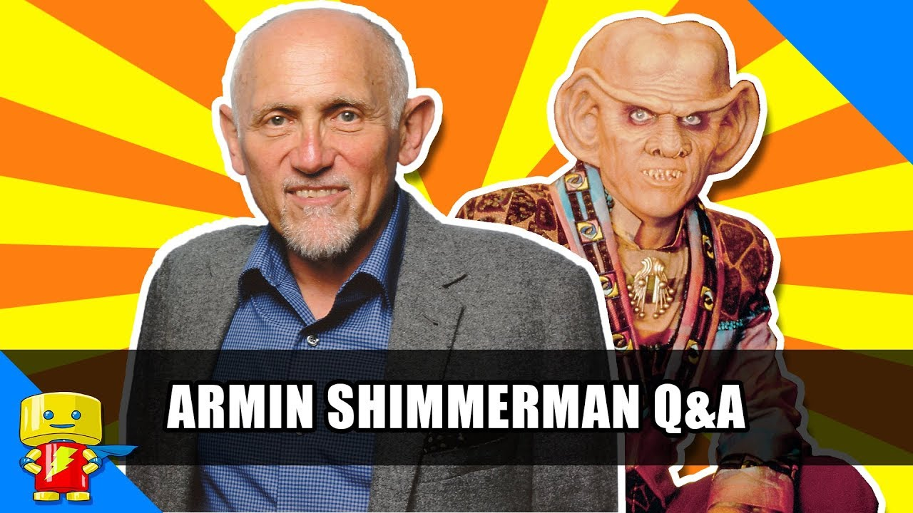 Download Star Trek: Deep Space Nine's Quark Armin Shimerman Q&A