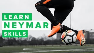 TOP 5 Neymar football skills pt. 2 | Learn to dribble like Neymar