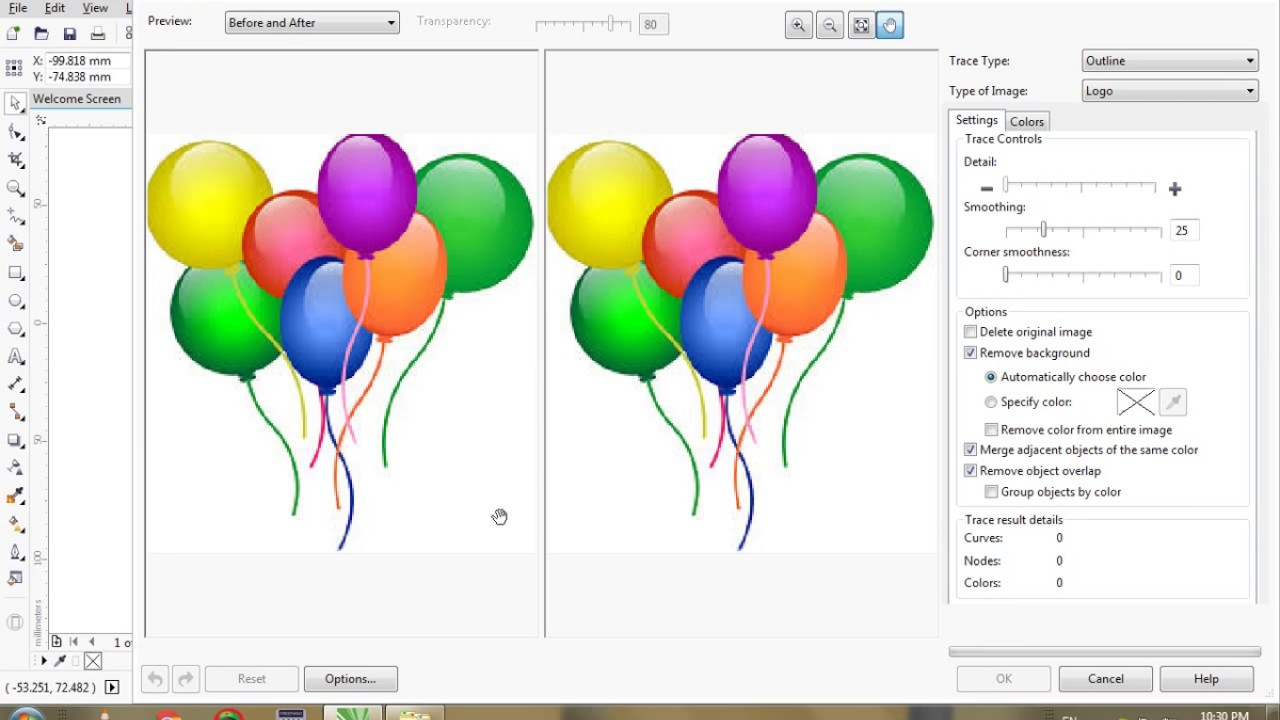 How To Create Barthday Card In Corel Draw