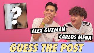 Alex Guzman vs. Carlos Mena - Guess The Post